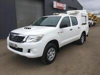 *SOLD*2013 Toyota Hilux 2.5 D4-D HL2 Double Cab 4x4 Diesel Utility Pickup *71k*