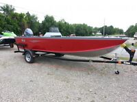 FISHING BOAT CLEARANCE - G3 Guide Boat Motor & Trailer