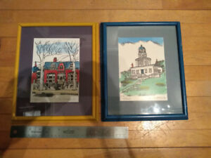 Autographed Prints of Saint John and Halifax Historic Places