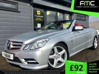 2013 Mercedes-Benz E350 Sport Convertible *Red Hood & Leather - 28,000 Miles*