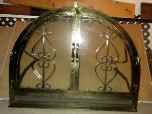Antique Fireplace & accessories complete and solid