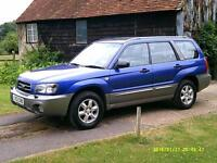 2003/53 Subaru Forester 2.0 ( Allweather ) X