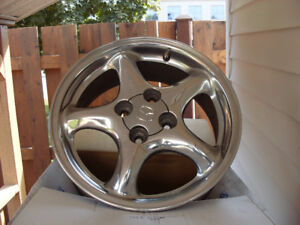 !999 -2005 Mazda Miata Polished Alloy Wheels
