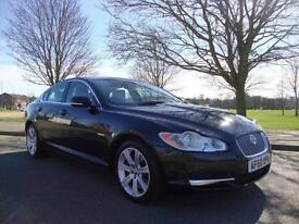 Jaguar XF 3.0TD V6 Luxury Auto, 2010 60, 64k FSH, Black with Champagne Leather,