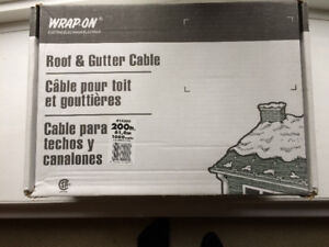 BNIB 200' roof and gutter cable