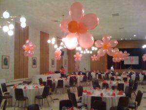 hall decorating