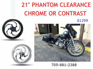 "21"" Rim/Wheel package for Harley Davidson"
