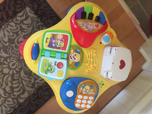 Fisher Price Play thingy, helps with language and numbers