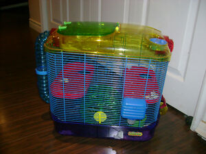 Hamster Cage with all accessories