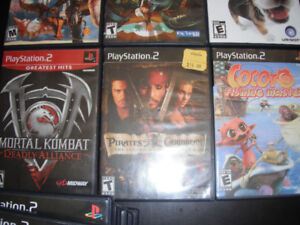 used PlayStation 2 games