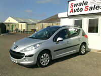 2009 PEUGEOT 207 SW S 1.6HDI ONLY 66,318 MILES, FULL SERVICE HISTORY, £30 TAX