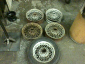 MGB Roadster and GT PARTS incl Wire Wheels