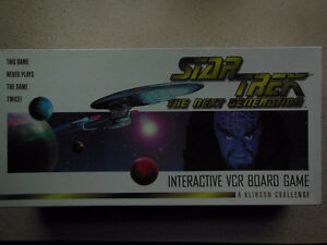 Star Trek - Next Generation VCR board Game