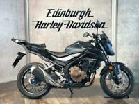 17 HONDA CB500FAH GIVI RACK, KAPPA SCREEN, SW MOTECH ENGINE BARS LOW MILES USB