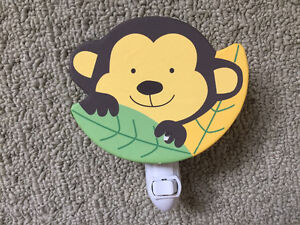 Monkey theme baby boy nursery lot Kitchener / Waterloo Kitchener Area image 2