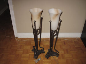 """Table Light fixture 30"""" height   $5.00   Both"""