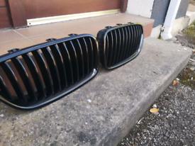 BMW black kidney grill -5 series F10/11
