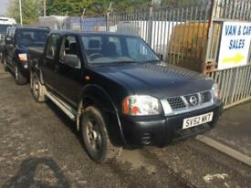 Nissan Navara 3.0 di venture 4x4 manual 2003 + air conditioning