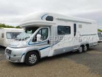 AUTOTRAIL CHIEFTAIN, 2012, 3.0D, 6 Berth, Fixed Bed, Rear Garage, LOW MILES, VGC