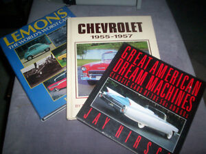Automobile books, manuals and misc books