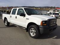 2007 Ford F-250 crew cab 4wd  $15770.0