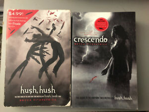 First two Hush Saga books by Becca Fitzpatrick