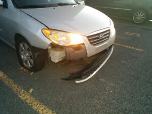 2007 Hyundai Elantra Berline_Accidentée