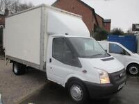 2012 62 FORD TRANSIT LUTON WITH ALLOY TAIL LIFT TWIN REAR WHEELS 125 PSI TURBO D