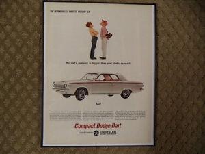 OLD FRAMED CAR ADS Windsor Region Ontario image 5