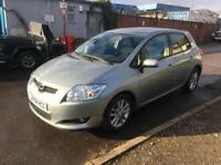 LHD LEFT HAND DRIVE - UK REG 2009 - TOYOTA AURIS - 2.0 DIESEL - AIR CON