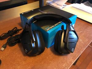 Logitech G633 Gaming Headset with full RBG