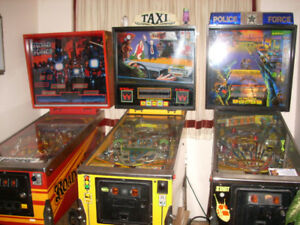 Police Force pinball machine