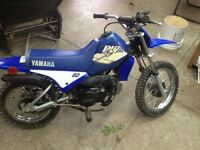Yamaha PW80 dirt bike