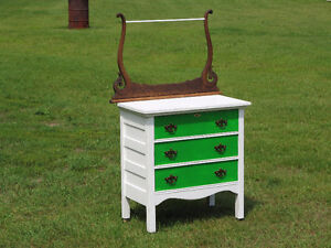 Refinished Oak Chest of Drawers