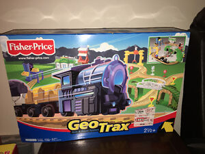 Fisher Price Geo Trax Rail and Road System Cambridge Kitchener Area image 1