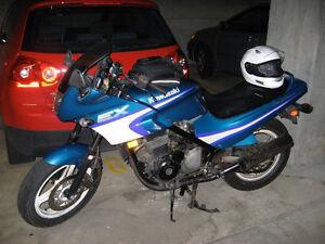 Feeler ad 1993 Kawasaki 500 ex