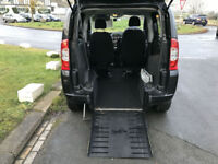 60 FIAT QUBO SIRUS WHEELCHAIR ACCESS DRIVE FROM CHAIR EXPENSIVE CONVERSION