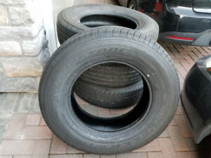 @@@ FIVE 18 INCH JEEP BRIDGESTONE DUELER TIRES 255/70R18 @@@