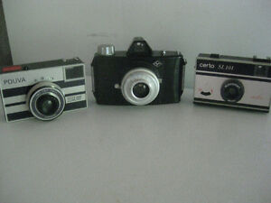 Vintage Camera's, $10 each or 3 for $20, Agfa, Pouva, Certo