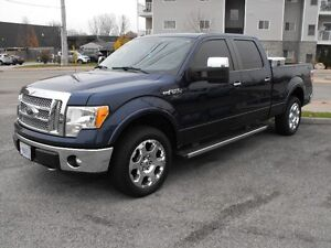 2011 F150 CREW  4X4  LARIAT  SUNROOF  LEATHER  A MUST SEE TRUCK. Windsor Region Ontario image 6