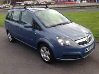 2007 Vauxhall Zafira 1.6i 16v Club- 7 Seater - FSH - New MOT - Only 93000 Miles