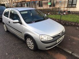 Vauxhall corsa 1.0 mot till may, tail pipe part of exhaust fallen of, still in daily use