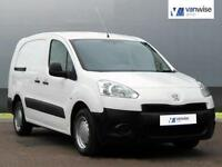 2012 Peugeot Partner HDI CRC Diesel white Manual