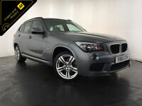 2012 BMW X1 XDRIVE18D M SPORT ESTATE DIESEL 143 BHP FINANCE PART EXCHANGE