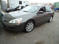 2006 Honda Accord EX ONLY 143000 KMS, AND ONLY $8900