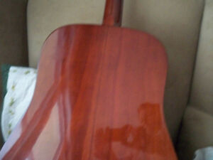 GUITAR CITATION ACUSTIC 6 STRING WITH CASE MINT CONDITION Stratford Kitchener Area image 2