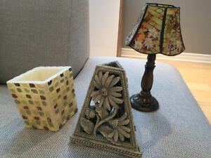 Petits objets décoratifs