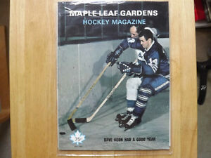FS: 1969 Maple Leaf Gardens Hockey Magazine (featuring Dave Keon