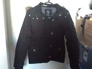 Woman's black winter coat size small