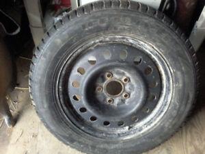 Studded winter tires off a 2012 dodge caravan